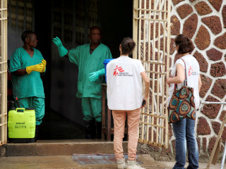 Congo begins Ebola vaccinations with 4,000 doses already shipped