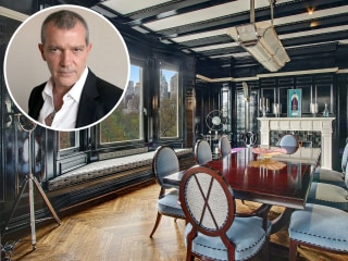 Antonio Banderas' fancy New York City apartment is all about the drama