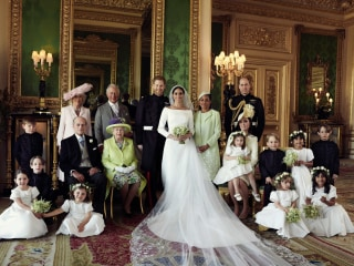 See the official wedding photographs of the Duke and Duchess of Sussex