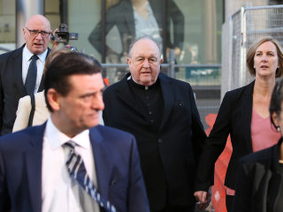 Australian archbishop convicted of sex abuse cover-up