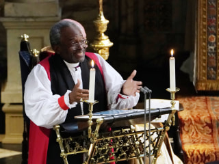 Rev. Michael Curry: I could see the 'quiet British amens'