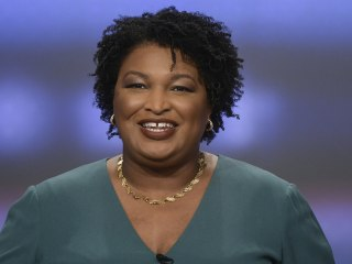 Stacey Abrams wins Georgia 'Battle of the Staceys' in bid to become first black female governor in U.S.