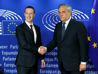 Facebook CEO Mark Zuckerberg faces tough questions from European lawmakers