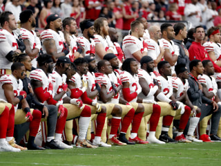 Groups plan protest at NFL HQ for players' 'right to kneel'