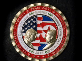 Trump-Kim summit coin is a collectible punch line