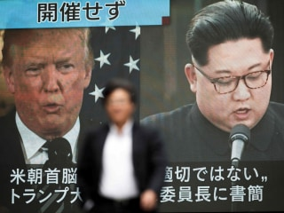 Trump hints axed summit with Kim Jong Un might be back on