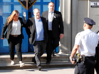 Harvey Weinstein surrenders to NYC police, is charged with rape