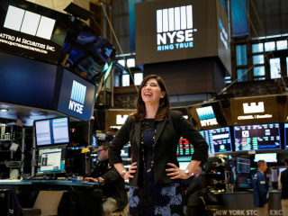 New York Stock Exchange gets its first female president