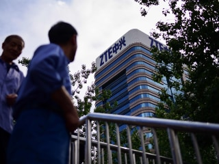 Congress sounds bipartisan alarm as Trump deals on ZTE