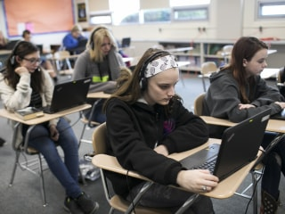 A rural school turns to digital education. Is it a savior or devil's bargain?