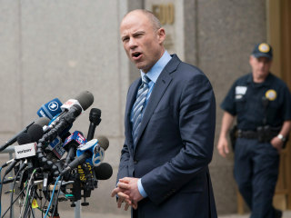 Judge declines to order Avenatti to stop talking about Cohen case