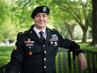 Army sergeant sues military for discrimination over 'outdated' HIV policy