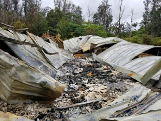 Hawaii lava evacuee volunteers time to save neighbors' homes