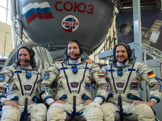 Soyuz rocket launches to ISS with NASA astronaut aboard