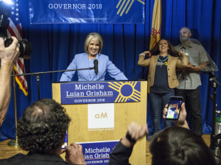Latina wins New Mexico gubernatorial primary, Latinos advance in California races