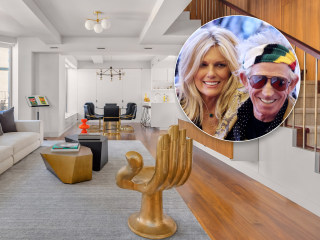 Keith Richards and Patti Hansen's NYC apartment is rock 'n' roll chic