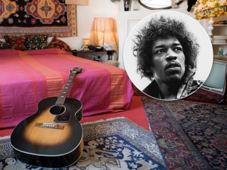 Get the full Jimi Hendrix experience inside his bohemian London flat