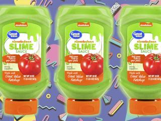 Nickelodeon's new slime sauce tastes way better than it looks