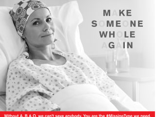 Red Cross seeks more blood with #MissingType campaign