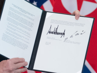 Full text of the U.S.-North Korea agreement signed by Trump, Kim