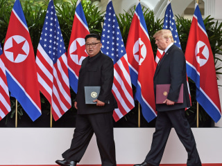 Trump and Kim nuclear summit agreement contains no new promises