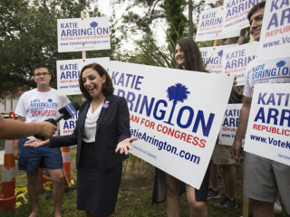 'Stunned and grateful': Katie Arrington, Republican who beat Sanford, credits Trump with win