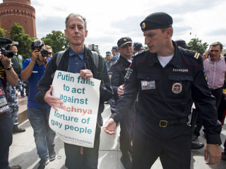 Russian police free gay rights activist arrested in Moscow