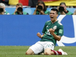 Mexico stuns defending World Cup champions Germany with 1-0 win