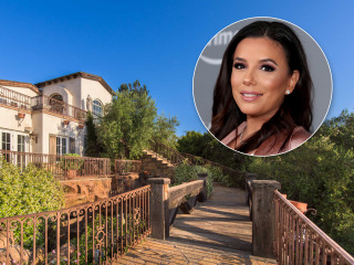 Eva Longoria's secluded cottage is straight out of a fairy tale
