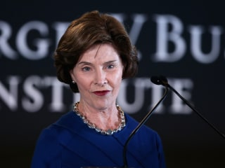Laura Bush: Separating families at border is 'cruel' and 'immoral'