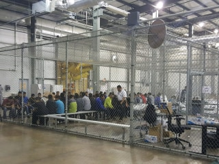 McAllen, Texas, immigration processing center is largest in U.S.