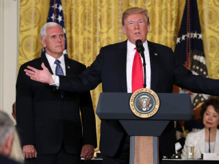 Trump: U.S. 'will not be a migrant camp ... not on my watch'