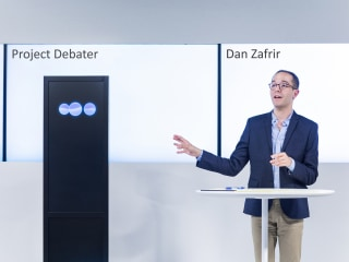 New IBM robot holds its own in a debate with a human