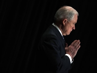 600+ United Methodist clergy, members file church complaint against Attorney General Jeff Sessions, a Methodist