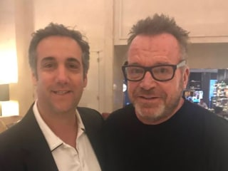 Tom Arnold tweets picture with Michael Cohen, says he 'has all the tapes'