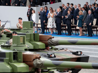 Trump's military parade in Washington now delayed until 2019