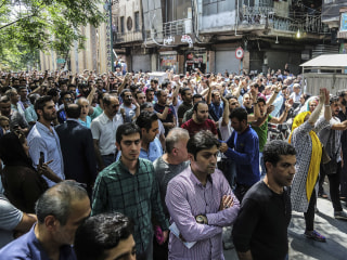 Iran protests broaden as U.S. sanctions takes toll on the economy