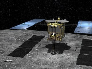 Japan's Hayabusa 2 space probe snuggles up to odd-looking asteroid