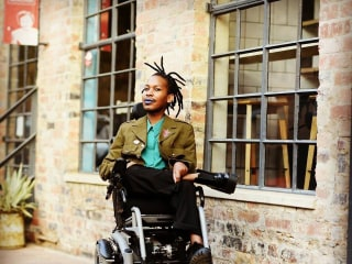 'Black, queer, disabled and brilliant': Activist hopes to make history in space