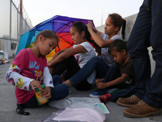 They came seeking asylum. Now they want their children back.