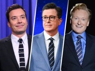 Late-night hosts Fallon, Colbert and Conan team up in response to Trump rally