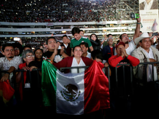 Ahead of elections, Mexicans say they want change, a stop to violence