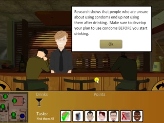HIV-prevention program that uses soap operas and games shows results