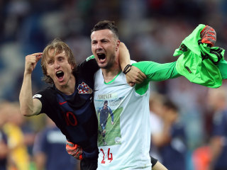 Croatia tops Denmark on penalty kicks to move to World Cup quarterfinals