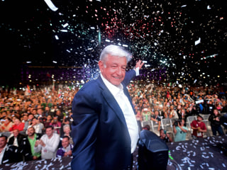 Leftist López Obrador storms to victory in Mexican presidential election