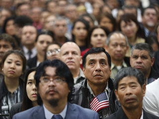 Citizenship application backlog 'skyrocketed' to near 730,000 under Trump, report finds