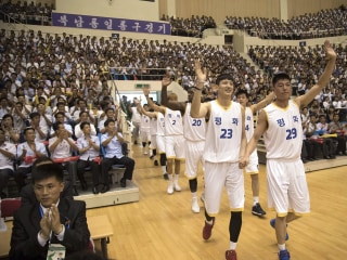 North Korea turns to basketball diplomacy ahead of Pompeo visit