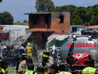 Fireworks explosion near Mexico City kills 24, injures 49