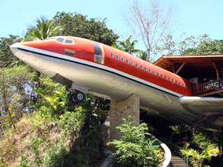 This airplane turned vacation house is a first-class experience