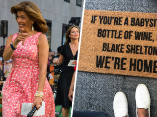 We love Hoda's doormat — here's how you can get one just like it